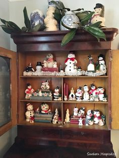 677 Best Snowmen Decorations Antiques Images In 2019 Christmas