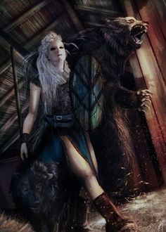 Lagertha, Vikings by EngendrARTE on DeviantArt Viking Art, Viking Warrior, Viking Woman, Warrior Women, Lagertha, Fantasy Characters, Female Characters, Valkyrie Costume, Character Inspiration