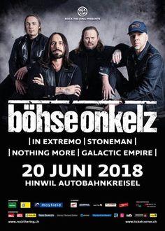 """Heute ist es soweit. Das """"böhse"""" Festival in Hinwil!  Wer ist mit dabei? ROCK THE RING Stagebox"""