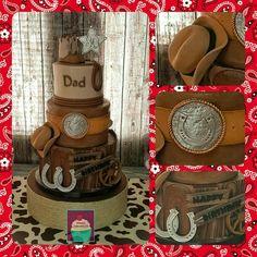 Wild West Cake,  Cowboy Cake, Old West Cake