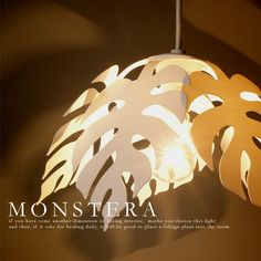 Rakuten: ※Same day shipment [MONSTERA PENDANT:] Monstera pendant 】 [flames:] Frames 】 DP-043 | Pendant light | Interior illumination | Natural taste | North European-style design | Asian modern | Hawaiian modern | Asian taste | Free shipping [FS_708-7] [H2]- Shopping Japanese products from Japan