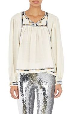 Isabel Marant Voile Chaz Tunic at Barneys New York