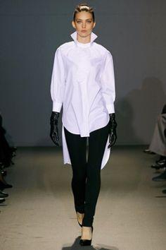 trend 2011 - white shirt and skirt | Why I Love White Shirts ...