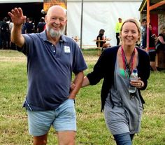 Michael & Emily Eavis - Glastonbury Festival organisers