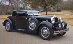1929 Stutz, 8, M Supercharged Coupe by Lancefield  - (Stutz Motor Co. Indianapolis, Indiana 1911-1935)