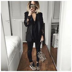 Black with leopard