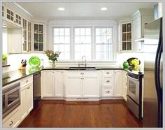 small kitchen ideas u-shaped
