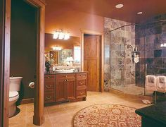 Luxury Master Bathroom Designs   Image detail for -log home luxury master bathroom.   Dream House ideas