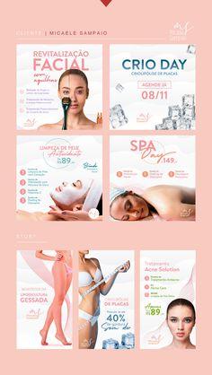 Social Media Ad, Social Media Template, Skincare Logo, Instagram Marketing, Instagram Design, Social Media Design, Layout, Branding, Promotion
