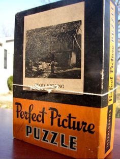 Vintage Perfect Picture Puzzle 1940s A Minnesota Lake