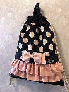 BBAG Sweet Backpack - Backpacks - Backpacks & Pouches - Handmade with love i . Pochette Diy, Diy Bags No Sew, Diy Backpack, Lace Backpack, Potli Bags, Backpack Pattern, Japanese Sewing, String Bag, Denim Bag