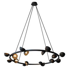 JBS Avion Round 16 Light Chandelier