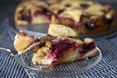 purple plum torte