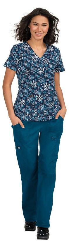 Leslie Top Athletic-inspired breathable mesh Sporty v-neck styling Designed to keep you cool and dry Two front pockets Side slits Length size Small: polyester Spandex SKU: Koi Scrubs, Scrub Tops, Keep Your Cool, Tunic Tops, Sporty, Stylish, Winter, Fashion Design, Clothes