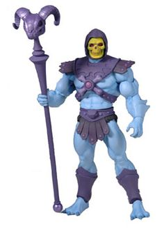 Skeletor, Evil Lord of Destruction. From Masters of the Universe Classics available at MattyCollector.com. #toys $22