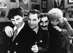 Everyone should see the old Marx Brothers films. Just good comedy