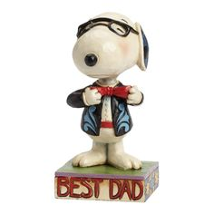 Father's Day is Sunday, June 21! Celebrate with your Peanuts-loving Dad and this Snoopy by Jim Shore figurine. Start shopping at CollectPeanuts.com and help support our site.