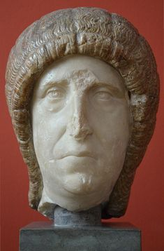 A Roman lady, from the vicinity of Rome, c. AD 200, marble and onyx, Ny Carlsberg Glyptotek, Copenhagen |