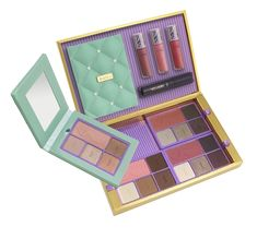 Tarte Away Oui Go Portable Palette & Collectors Set ($48 at Ulta and Ulta.com this October)  Read more: http://www.musingsofamuse.com/2014/09/tarte-holiday-2014-palettes-gift-sets.html#ixzz3D1sdIgbW