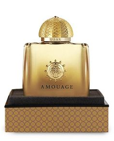 Ubar Amouage. Ubar was launched in 1995. The nose behind this fragrance is Creations Aromatiques. Top notes are lily-of-the-valley, bergamot and lemon; middle notes are damask rose, jasmine and bulgarian rose; base notes are sandalwood, civet and vanilla.