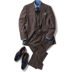 Brown Suits, Professional Look, Mens Fashion, Fashion Outfits, Dapper, Menswear, Chocolate Brown, My Style, Classic