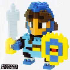 Dragon Quest II Prince of Lorasia Kawada Nanoblock Nano Block JAPAN FIGURE