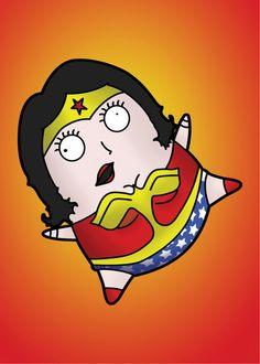 Print - Wonder Woman