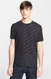 rag & bone Stripe Graphic T-Shirt