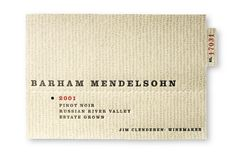 Use letterpress counter to individually number each label