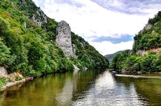 The rock sculpture of Decebalus is a 40-m high carving in rock of the face of Decebalus, the last king of Dacia, who fought against the Roman emperors Domitian and Trajan to preserve the independence of his country, which corresponded to modern Romania. The sculpture was made between 1994 and 2004, on a rocky outcrop on the river Danube, at the Iron Gates, which form the border between Romania and Serbia. It is located near the city of Orşova in Romania.