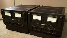 Audio Research Reference 300 amplifiers
