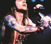 Axl Rose was so cool back in the day !