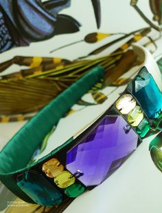 Headband inspired by Botanicals, Butterflies & Insects