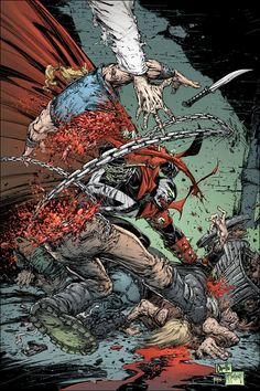 SPAWN.COM >> COMICS >> SPAWN >> MONTHLY SERIES >> ISSUE 196