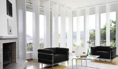 Silent gliss panel blinds