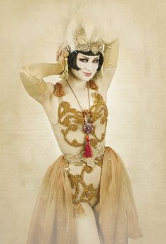 Vicky Butterfly. I love the skirt, it's simple, beautiful, and can be added to other costumes