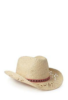 ec3efc766d0 Western Redux Straw Cowboy Hat