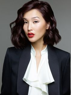 Try the hottest #ITLOOK by #lorealpro #2015 #trend #violet #wavy #bob