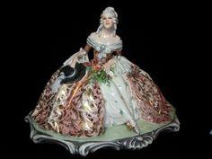 Vintage 1930's Bertolotti Porcelain Figurine!