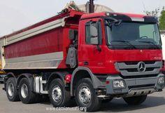 Mercedes Actros Carri Cantiere 4146 K42(8×4/4) BlueTec | Camionusati web portal