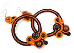 Sutasz-Anka: Tangerine Dream- earrings