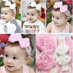 Grátis frete faixa do cabelo do bebê fita de cabelo por atacado Rose Bow infantil crianças Headband bebê acessórios de cabelo em Acessórios de Cabelo de Roupas & acessórios no AliExpress.com | Alibaba Group