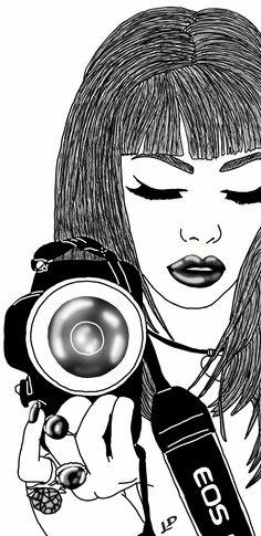 Dream Book, Art Girl, Wallpapers, Dreams, Girls, People, Black And White Illustration, Pictures, Illustrations