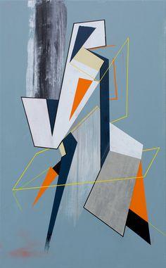 '180 GRADEN KAN EEN OPTIE ZIJN' - Mixed media - canvas - 50cm x 80cm - Strook, Stefaan De Croock