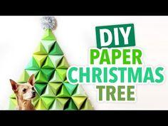 How-To: Geometric Paper Christmas Tree