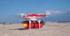 The Drone That Could Save You From Drowning [Rescue: http://futuristicnews.com/tag/rescue/ Future Drones: http://futuristicnews.com/tag/drone/ Drones for Sale: http://futuristicshop.com/tag/drone/]