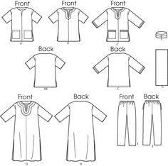 kurta sewing pattern - Google Search