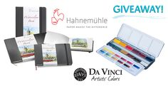 Watercolor Travel Sketching Giveaway – Hahnemühle Watercolour Books & Da Vinci Watercolors