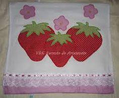 Resultado de imagem para moldes de frutas para aplicar em pano de prato