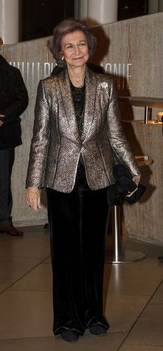 PRINCESS MONARCHY - Queen Sofia of Spain attends Grand Duke Jean's 95th Birthday